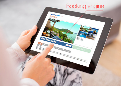 website for tour operator
